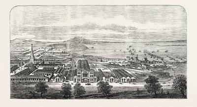 The Geelong And Melbourne Railway, Geelong Terminus Art Print