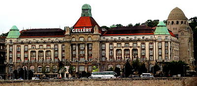 Budapest Hungary Hotels Photograph - The Gellert Hotel by Laurel Talabere