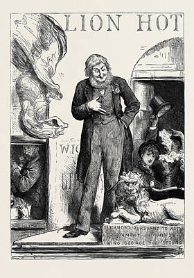 Popular Culture Drawing - The General Election The Popular Candidate 1880 by English School