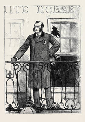 The General Election The Unpopular Candidate 1880 Art Print