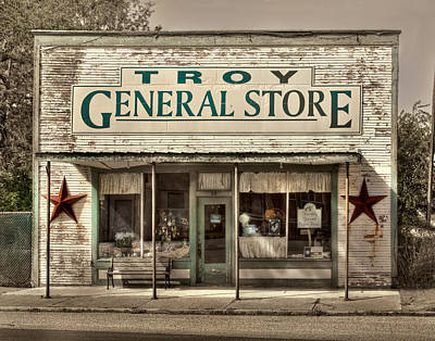 Photograph - The General Store by David and Carol Kelly