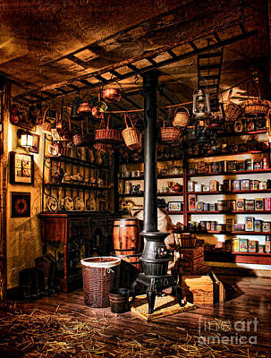 General Store Photograph - The General Store In My Basement by Olivier Le Queinec