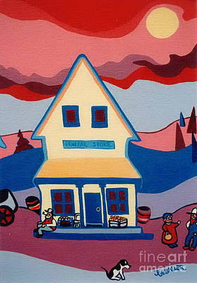 Painting - The General Store by Joyce Gebauer