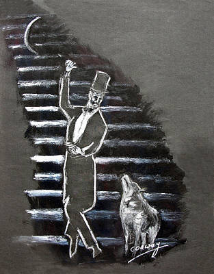 Painting - The Gentleman And The Wolf by Tom Conway