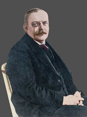 The German Psychiatrist Alois Alzheimer Art Print by National Library Of Medicine
