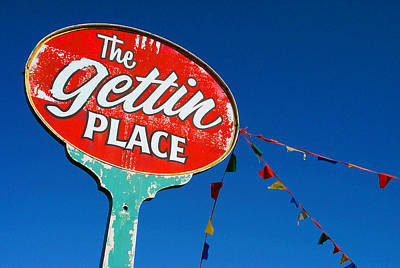 The Gettin Place Art Print
