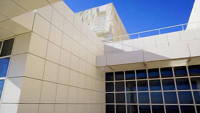 Digital Art - The Getty Museum #2 by Joe Michelli