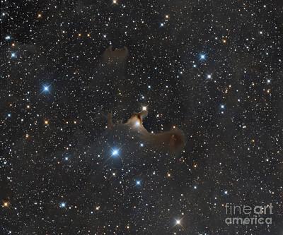 Star Evolution Photograph - The Ghost Nebula, Vdb 141 by Michael Miller