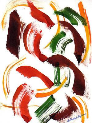 Painting - The Ghost Tsunami 02 by Mirfarhad Moghimi