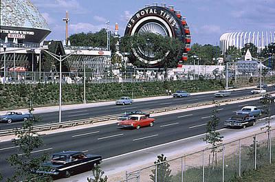 The Giant Us Royal Ferris Wheel Ride At The New York World Fair-1964-65  Original