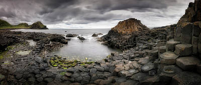 Panorama Wall Art - Photograph - The Giants Causeway by Yolanda Romero Angueira
