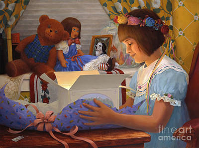 The Gift Art Print by Charles Fennen