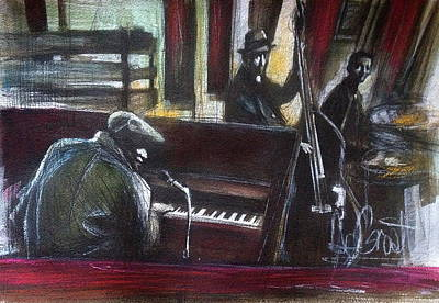 Painting - The Gig by Gregory DeGroat