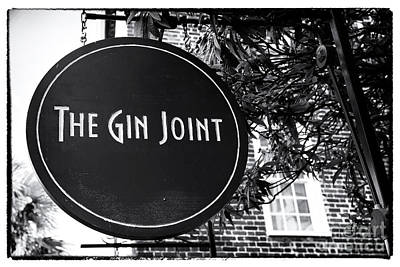 Photograph - The Gin Joint by John Rizzuto
