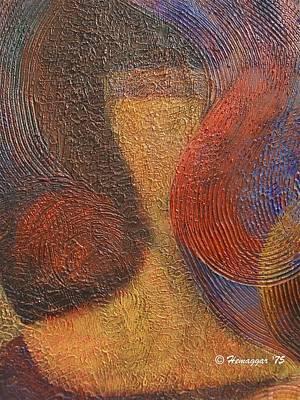 Painting - The Girl by Hemu Aggarwal