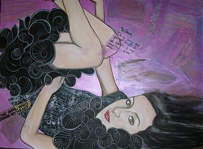 The Girl Who Broke My Heart Art Print