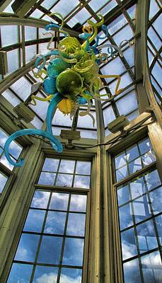 Art Blown Glass Photograph - The Glass Room by Dan Sproul