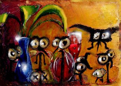The Glass Suckers Original by Marcello Cicchini