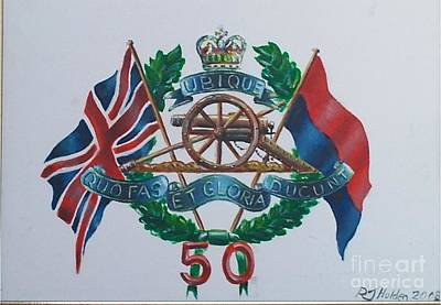 The Glorious 50 Art Print by Richard John Holden RA