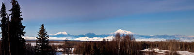 Denali Photograph - The Glorious View Of Ski Hill by Dora Miller