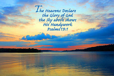 The Glory Of God Art Print by Lorna Rogers Photography