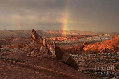 The Glory Of Sandstone Print by Bob Christopher