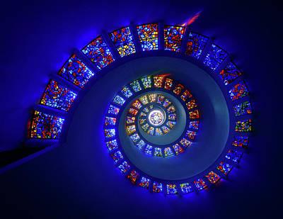 Dallas Wall Art - Photograph - The Glory Window by Michael Zheng