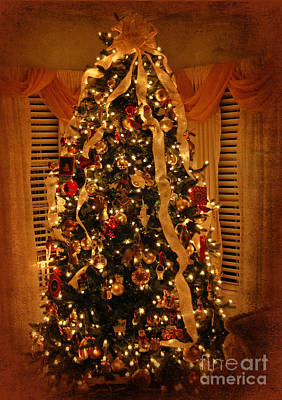 Photograph - The Glow Of Christmas by Kathy Baccari
