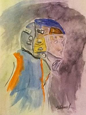 The Goalie Art Print