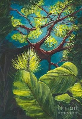 The Goblin Market Restaurant Tree Mt. Dora Art Print