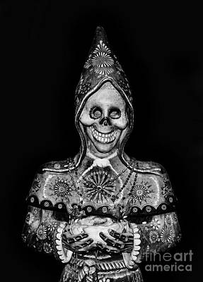 Voodoo Doll Photograph - The God Of Death Awaits You - Voodoo Statue by Lee Dos Santos