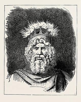 The God Thor Art Print by English School