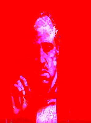 Keaton Digital Art - The Godfather 3j by Brian Reaves