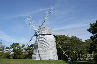 Photograph - The Godfrey Windmill by David Birchall