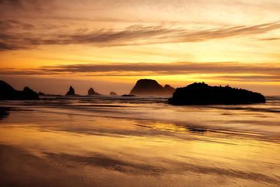 The Golden Coast Art Print by Darren  White