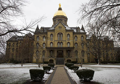 Photograph - The Golden Dome Of Notre Dame by Nathan Rupert