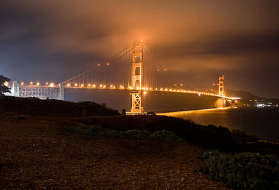Photograph - The Golden Gate by Brent Durken
