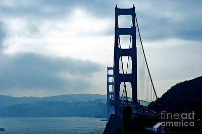 Achieving Royalty Free Images - The Golden Gate bridge 9 Royalty-Free Image by Micah May