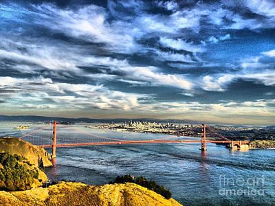 The Golden Gate Bridge At Dusk Original