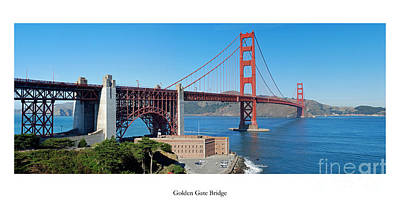 San Francisco California Photograph - The Golden Gate Bridge by Twenty Two North Photography