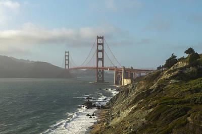 Photograph - The Golden Gate by Steve Belovarich