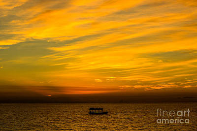 Photograph - The Golden Sky That Mesmerize  by Rene Triay Photography