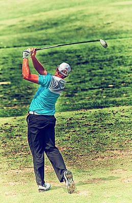 The Golf Swing Art Print by Karol Livote