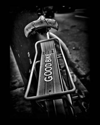 Photograph - The Good Bike by Brian Carson