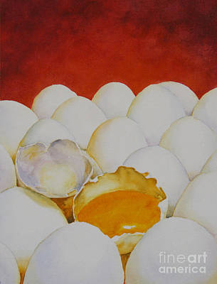 Painting - The Good Egg by Glenyse Henschel