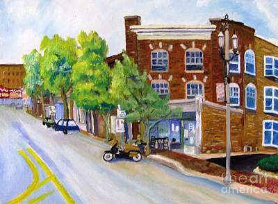 The Good Garden Cafe And Wine Gallery Original by Kenneth Michur