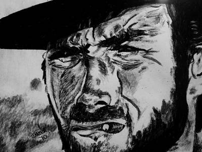 Clint Eastwood Drawing - The Good by Jeremy Moore