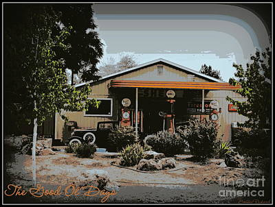 Photograph - The Good Ol Days  by Bobbee Rickard