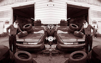 Photograph - The Good Old Boy Twin's Garage by Ron Haist