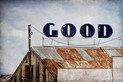 Adjectives Photograph - The Good Shed by Rosemary Scott